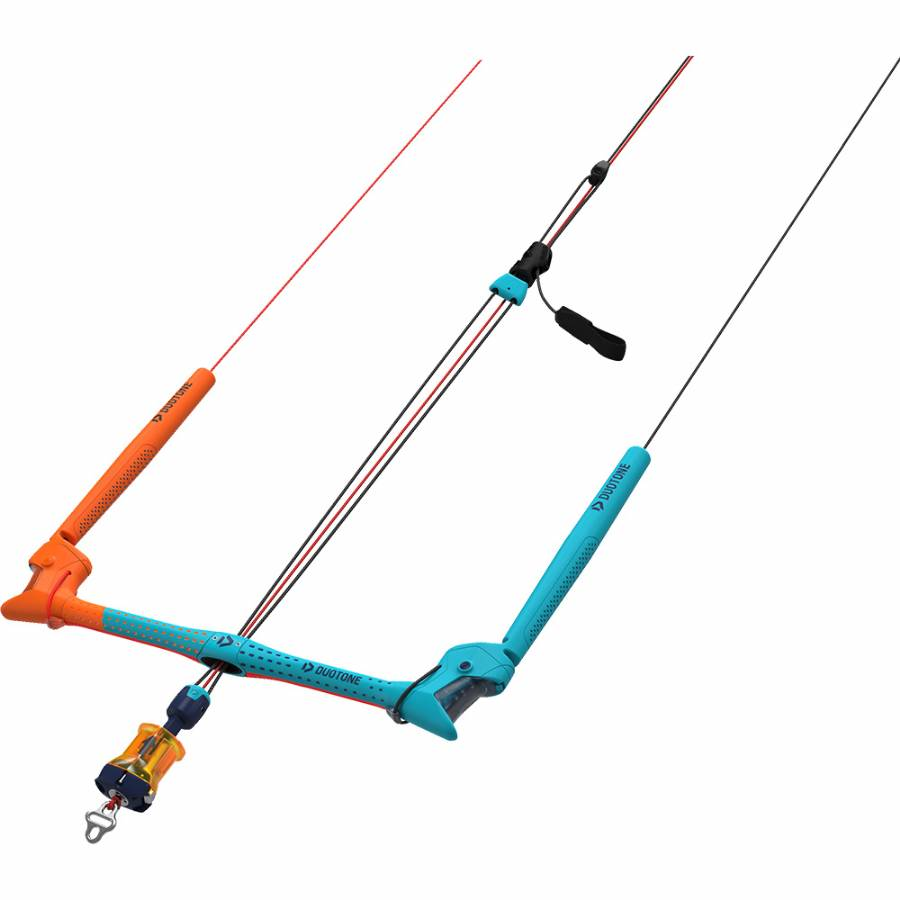 DUOTONE TRUST BAR QUAD CONTROL 22 METER KITE BAR Weiterer Wassersport Bars QUICK RELEASE ROPE HARNESS