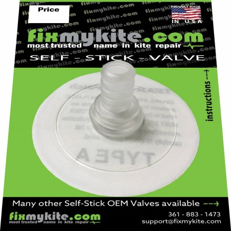 FixMyKite.com Duotone Straight One Pump Valve, Leading Edge