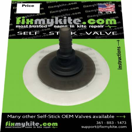 Fixmykite.com Ozone Straight One Pump Valve